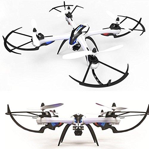 WayIn® JJRC H16 Nueva Versión Yizhan Tarantula X6 - 1 Drone 4 canales 2.4GHz LCD remoto Quadcopter de control con...