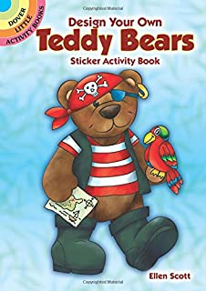 Design Your Own Teddy Bears Sticker Activity Book (Dover Little Activity Books)