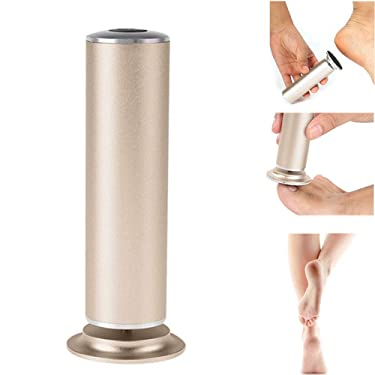 Qkiss Professional Electric Callus Remover Foot File Pedicure Care Tool(US-Champagne)