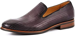 Rui Landed 萧萧 Hand-Made British Low Top Formal Shoes for Men Oxford Shoes Premium Genuine Leather Slip On Style Casual Loa...