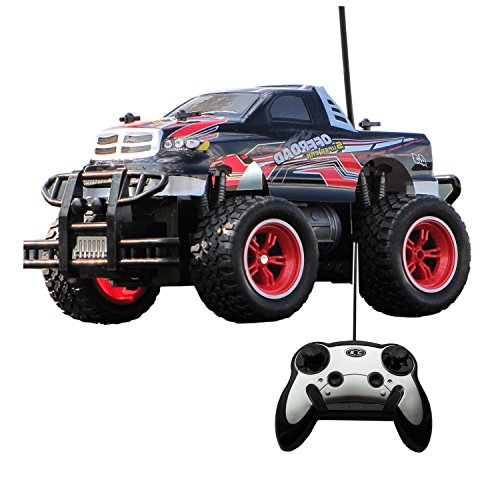 Diawell RC ferngesteuertes Auto Monstertruck Truck Car im Super Design mit Lexan Karosserie 651611S