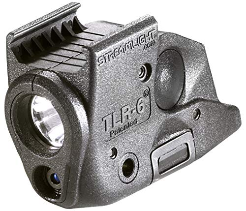 Streamlight 69291 TLR-6 Tactical Pistol Mount Flashlight 100 Lumen with Integrated Red Aiming Laser Designed Exclusively and Solely for Springfield Armory XD Railed Hand Guns, Black