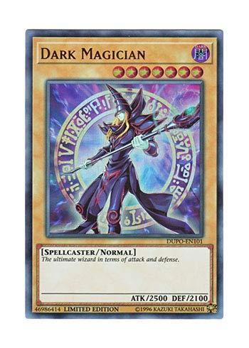 遊戯王 英語版 DUPO-EN101 Dark Magician ブラック・マジシャン (ウルトラレア) Limited Edition