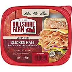 Hillshire Farm Ultra Thin Sliced Lunchmeat, Smoked Ham, 9 oz.