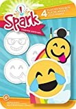 Colorbok Pflaster Magnete, Goofy Emoji