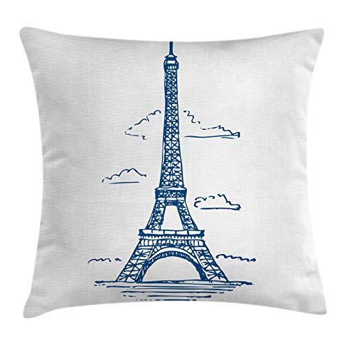 Kcmical Funda de cojín Western Throw Pillow, Bandera del Estado de Texas Pintada en Imagen de Emblema patriótico de Piel de Serpiente de cocodrilo, Azul Blanco