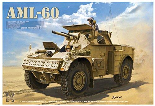 TAKOM 1/35 フランス軍 軽装甲車AML-60 プラモデル TKO2084