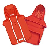 Voyager Waterproof Dogs Raincoat - Rain Poncho by Best Pet Supplies - Red, Large, Chest: 25' ~ 30' (253-RD-L)