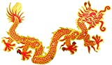 Beistle Dragon Chinese New Year Jointed Cutout - 1 Pc, Multicolored