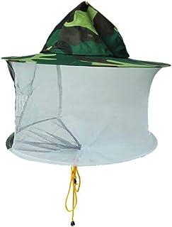カモフラージュ養蜂帽子、養蜂防護服、通気性、通気性とムッとしない、蜂帽子、養蜂カバー、養蜂のための特別なツール