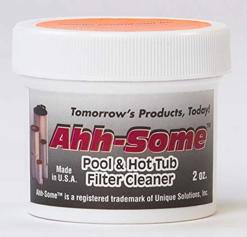 Ahh-Some Pool & Hot Tub Filter Cleaner