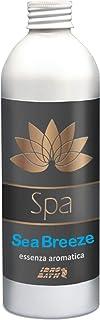 Sea Breeze - Fragancia aromática de 250 ml + vaso dosificador, aroma fresco a brisa marina para spa e hidromasaje rígida o hinchable (jacuzzi, teuco, atenuador, índex, Bestway, etc.).