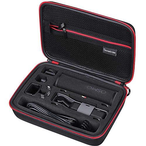 Smatree Tasche mit stoßfestem Material für DJI OSMO Pocket 2 /DJI OSMO Pocket, Ladebox, Kabel, Wireless Module,Micro USB Adapter, & andere Zubehör