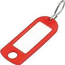 Sleutelhanger van zacht plastic met S-haken