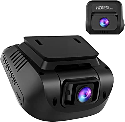 Both 1080P FHD Front and Rear Dual Lens Dash Cam in Car...