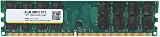 DDR2 Memory,800MHZ 4G 240pin RAM Memory Designed for DDR2 PC2-6400 Desktop Computer,Compatible with for AMD Motherboards, ...