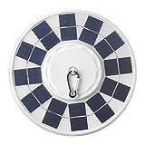 Tiamu 128 LED Solar Betriebenes Fahnen Mast Licht Automatisches Licht Nacht Super Heller Fahnen Mast