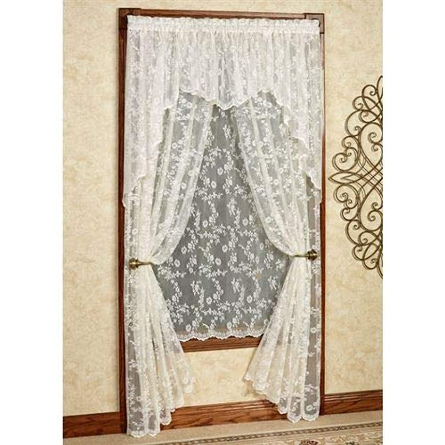 Curtain Chic, Inc. Cottage Garden Tailored Lace Panel