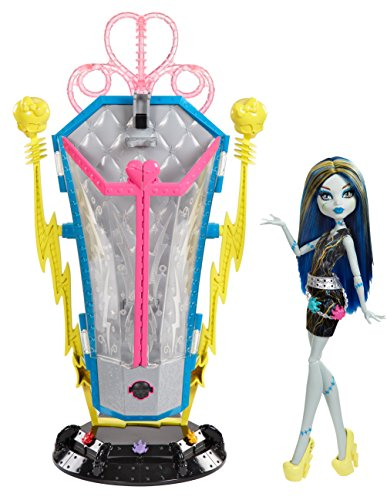 Monster High - BJR46 - Accessoire Pour Poupée - Playset Frankie Transformator