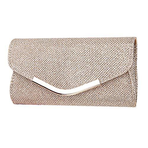 Vssictor Pailletten-Clutch, Make-Up-Aufbewahrung, Damen-Handtasche, gehobene Abendparty, kleine Clutch, Bankett, Geldbörse, Handtasche