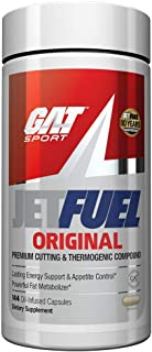 GAT Sport JetFuel Original - Weight Loss Supplement, Energy Booster, Fat Burner, Appetite Suppressant (144 Capsules) Produ...