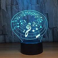 giyiohok7色を変えるリトルボーイエンジェルモデリングデスクランプ3DLEDナイトライトUSB雰囲気赤ちゃんの寝室の睡眠照明ギフト-N32-N10
