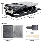 Zoom IMG-1 raclette 8 persone griglia 2