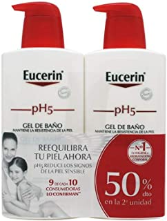 Eucerin Family Pack Ph5, Pack de Gel De Baño 1000 ml y Gel