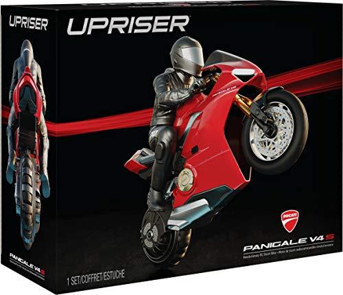 Spin Master - 6053427 - Upriser Ducati, Authentisches Panigale V4S Motorrad mit Fernsteuerung, Maßstab 1:6