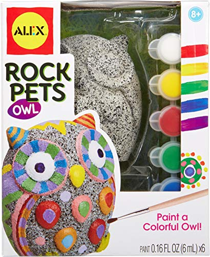 Alex Rock Pets Owl Kids Art and Craft Activity