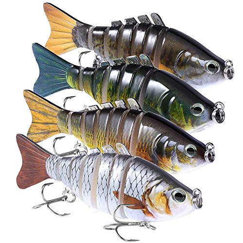 PLUSINNO Fishing Lures for Bass,...