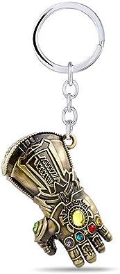 The Avengers Infinity War Endgame Iron Man Infinity Gauntlet Key Chains Keychain