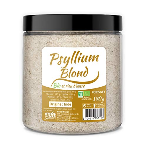 Psyllium Blond Bio 140 g – GPH Difusion