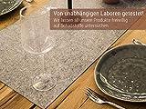 Luxflair XXL Tischläufer Tischband aus edlem Filz, modern, Graumeliert (+ weitere Farben), ca. 40x150cm, abwaschbar. Schlichtes Tisch-Accessoire - 5