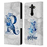 Head Case Designs Officiel Harry Potter Ravenclaw Aguamenti Deathly Hallows IX Coque en Cuir à...