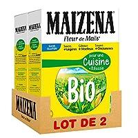 Utilisez la Fleur de Maïs Bio pour des sauces plus légères, des gâteaux plus moelleux, ou encore des soupes plus onctueuses. La Maïzena Fleur de Maïs est composé uniquement d'amidon de maïs issu de l'agriculture biologique. Ne contenant que de l'amid...