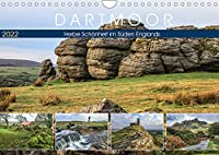 Dartmoor, herbe Schoenheit im Sueden Englands (Wandkalender 2022 DIN A4 quer): Eine fotografische Reise zu Granithuegeln, Moorlandschaften und historischen Bauwerken. (Monatskalender, 14 Seiten )