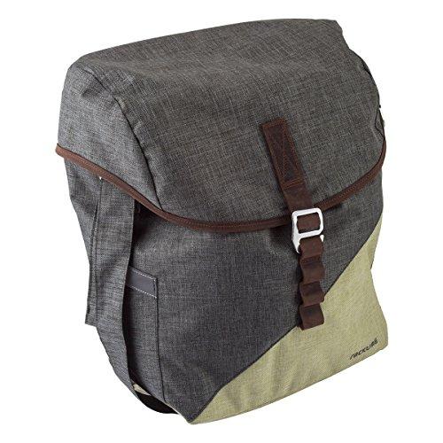 Buy Bargain Racktime Mia Bicycle Pannier Bag (Green/Grey)