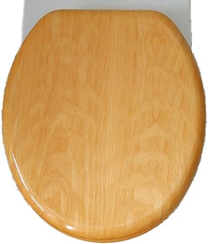 Timber Toilet Seat Solid Brewer Heritage Wood Bathroom