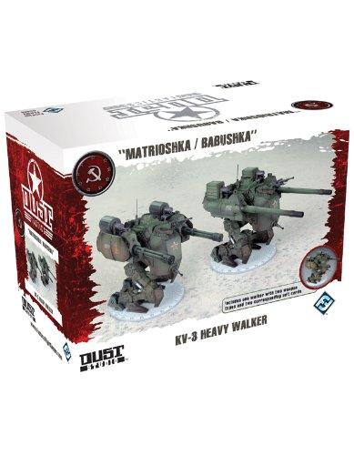 Dust Tactics: Ssu Kv-3 Heavy Walker