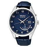 Seiko neo Classic Mens Analog Japanese Automatic Watch with Leather Bracelet SRN061P1