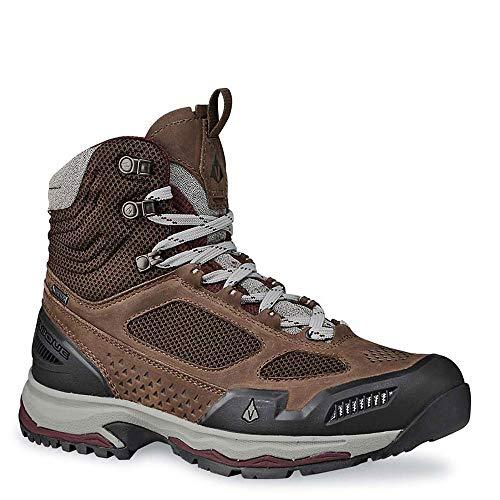 Vasque Women's Breeze at Mid Gore-TEX Hiking Boots, Dark Earth/Rum Raisin, 9D (Wide)