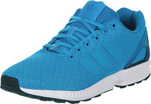 adidas Herren ZX Flux Sneakers, Mehrfarbig (Blau/Schwarz/Weiß) 37 1/3 EU