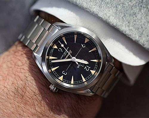 Omega Seamaster Railmaster Automatic Mens Stainless Steel Watch 220.10.40.20.01.001