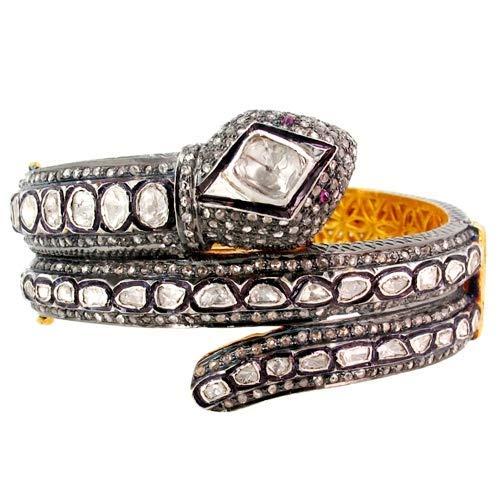 costozon vintage Regular dealer diamond tennis bracelet ruby Rose 67% OFF of fixed price Tcw 9.35 Cut