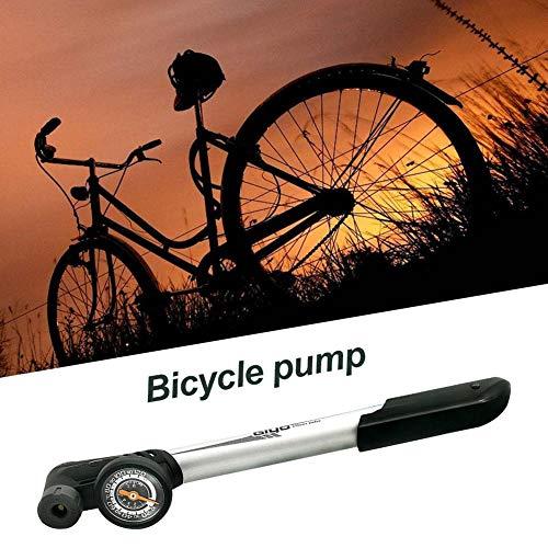 KiGoing Mini Fahrradpumpe, Mini Luftpumpe Fahrrad Für Presta Und Schrader Ventile, 100 PSI Hoher Druck Handpumpe Und Leichte Regal Für Rennrad/Mountainbike Fahrrad