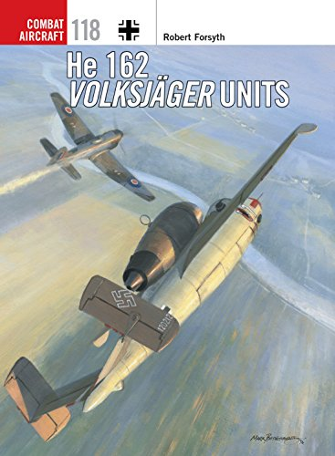He 162 Volksjäger Units (Combat Aircraft Book 118) (English Edition)