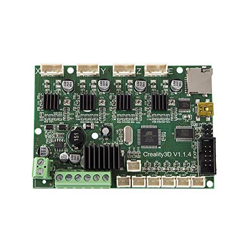 Aibecy Creality Scheda Madre, Controller Scheda Mainboard per Creality CR-10/10Mini Stampante 3D Auto Montaggio Kit FAI DA TE con Porta USB e Alimentazione 12V
