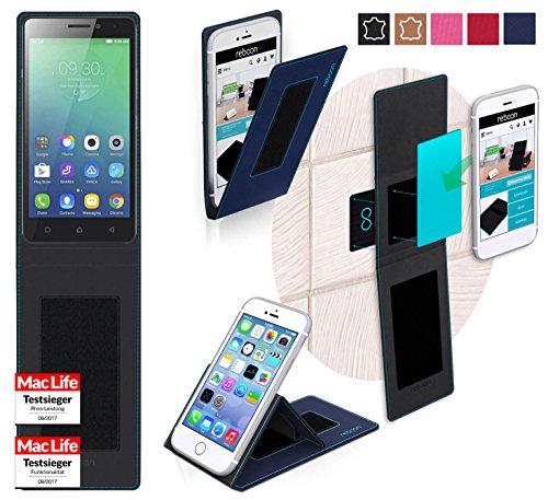 Hülle für Lenovo Vibe P1m Tasche Cover Hülle Bumper | Blau | Testsieger