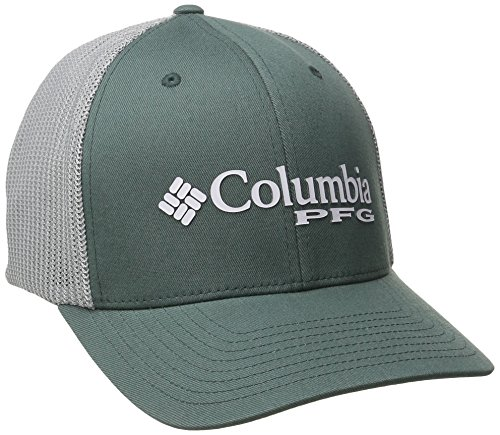 Columbia Adulto PFG Malla Bola Cap, Unisex, Pond/Cool Grey Hook